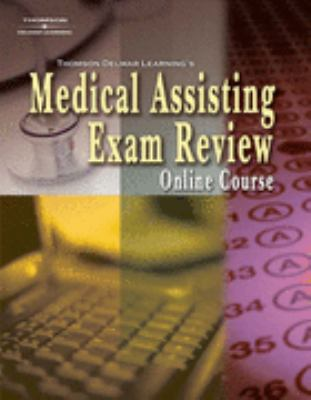 Medical Assisting Exam Review Online   2010 9781401878153 Front Cover