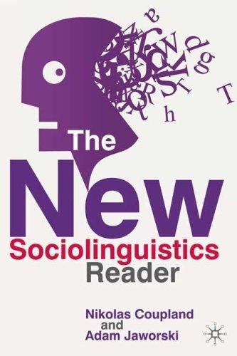 New Sociolinguistics Reader  2nd 2008 edition cover