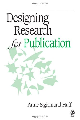 Designing Research for Publication   2009 edition cover
