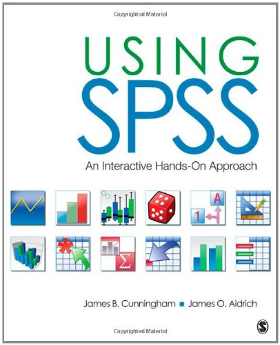 Using SPSS An Interactive Hands-On Approach  2012 edition cover