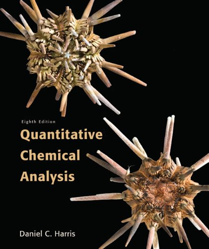 Quantitative Chemical Analysis  8th 2011 edition cover