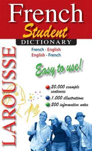 Larousse Student Dictionary French-English/English-French   2010 edition cover