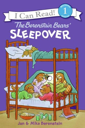Berenstain Bears' Sleepover  Activity Book  9780060574154 Front Cover