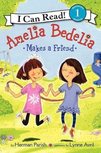 Amelia Bedelia Makes a Friend   2012 edition cover
