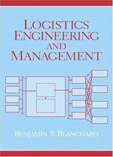 Logistics Engineering and Management  6th 2004 edition cover