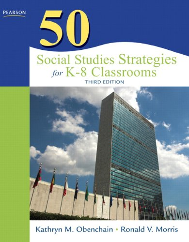 50 Social Studies Strategies for K-8 Classrooms  3rd 2011 edition cover