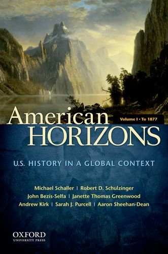 American Horizons U. S. History in a Global Context N/A edition cover
