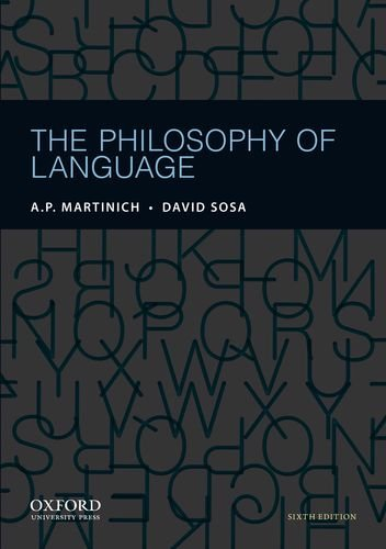 Philosophy of Language  6th 2012 edition cover