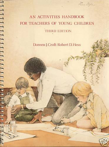 Activities Handbook for Teachers of Young Children  6th 2000 edition cover