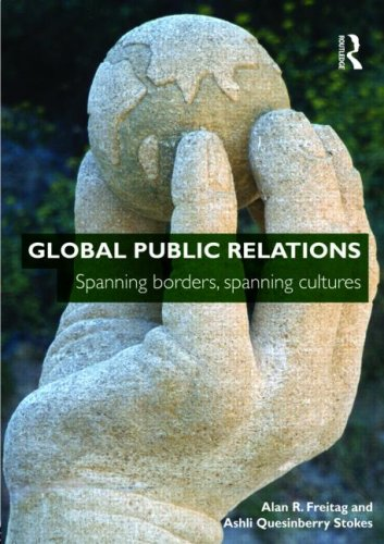 Global Public Relations Spanning Borders, Spanning Cultures  2009 edition cover