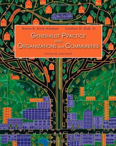 Generalist Practice with Organizations and Communities  4th 2009 edition cover