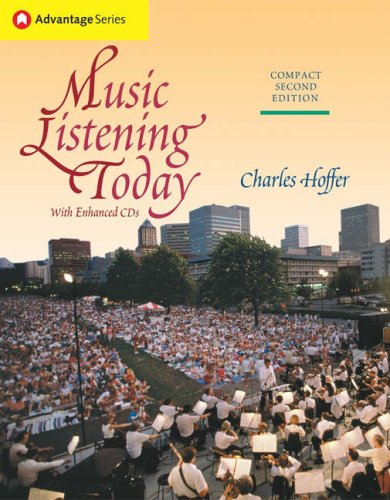Music Listening Today  2nd 2005 (Revised) edition cover