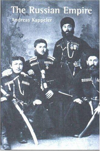 Russian Empire A Multi-Ethnic History  2001 edition cover