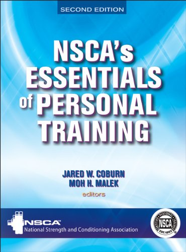 NSCA's Essentials of Personal Training  2nd 2013 edition cover