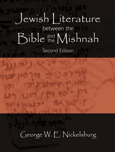 Jewish Literature Between the Bible and the Mishnah A Historical and Literary Introduction 2nd edition cover
