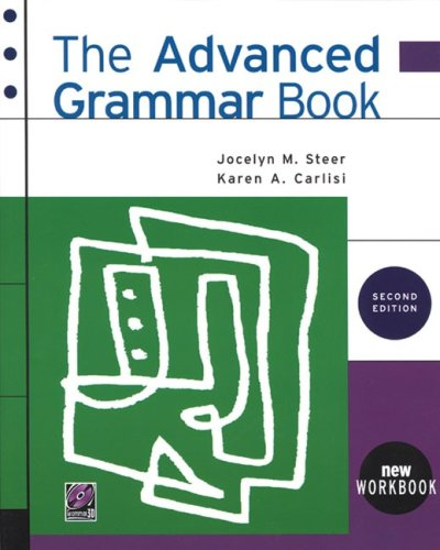 Advanced Grammar Book  2nd 1998 edition cover