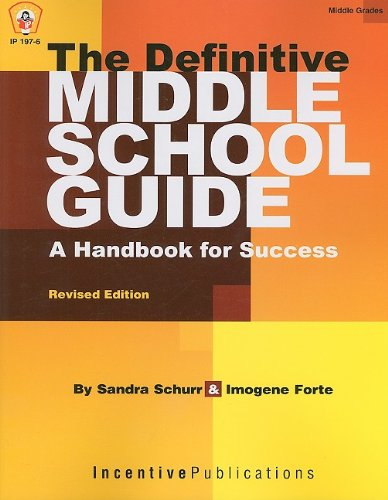 Definitive Middle School Guide A Handbook for Success 2nd 2009 edition cover