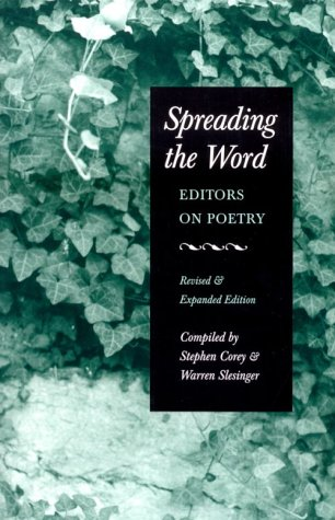 Spreading the Word Editors on Poetry  2001 (Revised) edition cover