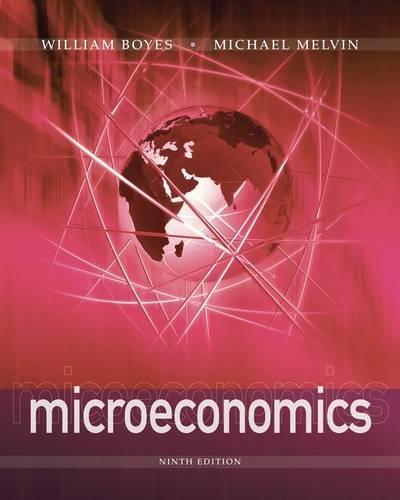 Microeconomics  9th 2013 edition cover