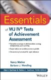Essentials of WJ IV Tests of Achievement   2015 9781118799154 Front Cover