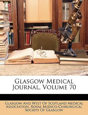 Glasgow Medical Journal  N/A edition cover