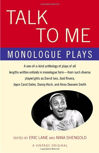 Talk to Me Monologue Plays  2004 edition cover