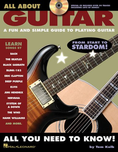 All about Guitar A Fun and Simple Guide to Playing Guitar N/A edition cover