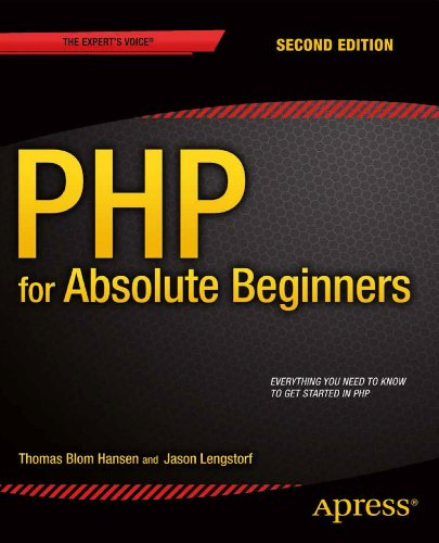 PHP for Absolute Beginners  2nd 2014 edition cover