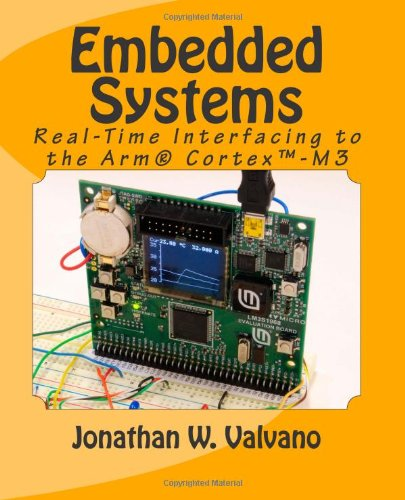 Embedded Systems Real-Time Interfacing to the Arm Cortex-M Microcontrollers 2nd 2012 edition cover