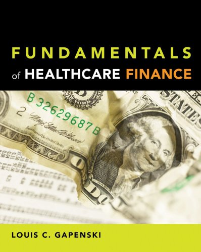 Fundamentals of Healthcare Finance   2009 edition cover