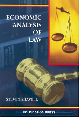 Economic Analysis of Law   2004 edition cover