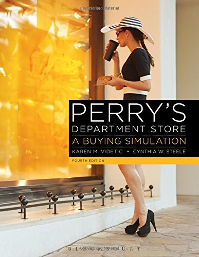 Perry's Department Store A Buying Simulation 4th 2015 edition cover
