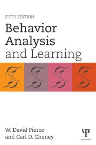 Behavior Analysis and Learning Fifth Edition 5th 2013 (Revised) 9781848726154 Front Cover