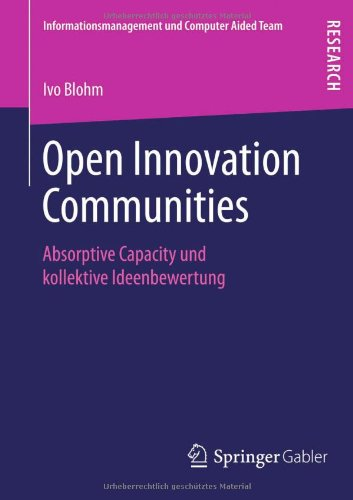 Open Innovation Communities   2013 edition cover