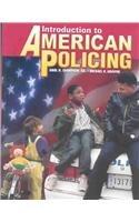 Introduction to American Policing   2003 edition cover