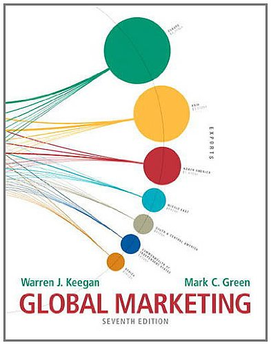 Global Marketing  7th 2013 (Revised) edition cover
