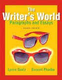 Writer's World Paragraphs and Essays Plus MyWritingLab with Pearson EText -- Access Card Package 4th 2015 edition cover