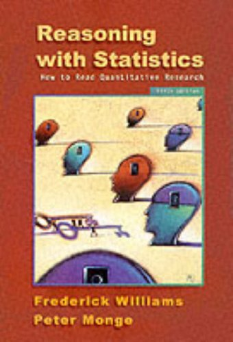 Reasoning with Statistics How to Read Quantitative Research 5th 2001 (Revised) edition cover