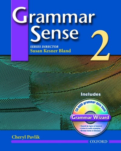 Grammar Sense 2  Student Manual, Study Guide, etc.  edition cover