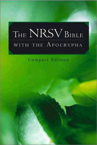 NRSV Bible  2nd 1995 edition cover