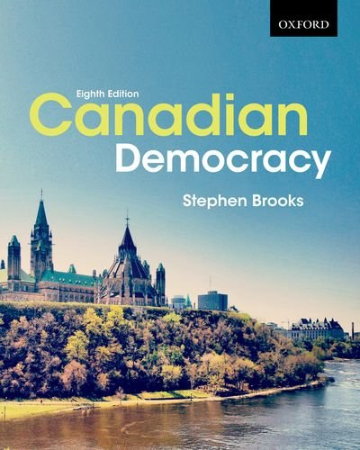 Canadian Democracy  8th 2015 edition cover