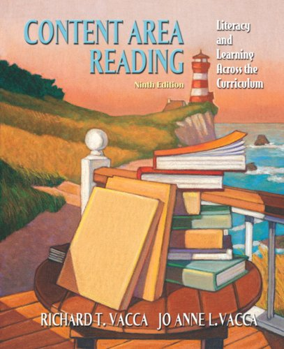 Content Area Reading Literacy and Learning Across the Curriculum 9th 2008 edition cover