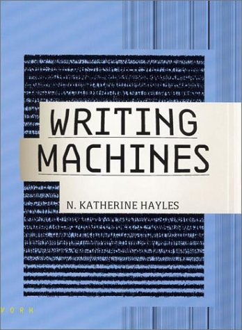 Writing Machines   2002 edition cover