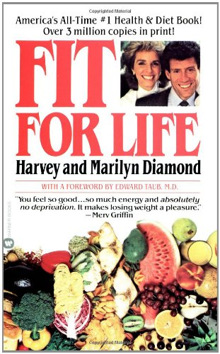Fit for Life A New Beginning,the Ultimate Diet and Health Plan  1985 edition cover