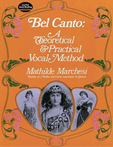 Bel Canto A Theoretical and Practical Vocal Method Reprint  edition cover