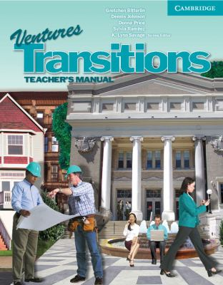 Ventures Transitions Level 5 Teacher's Manual   2010 9780521186155 Front Cover