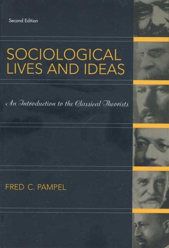 Sociological Lives and Ideas  2nd 2007 edition cover