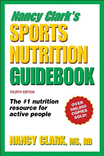 Sports Nutrition Guidebook  4th 2008 edition cover