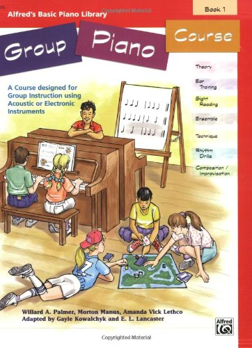 Alfred's Basic Group Piano Course, Bk 1 N/A edition cover