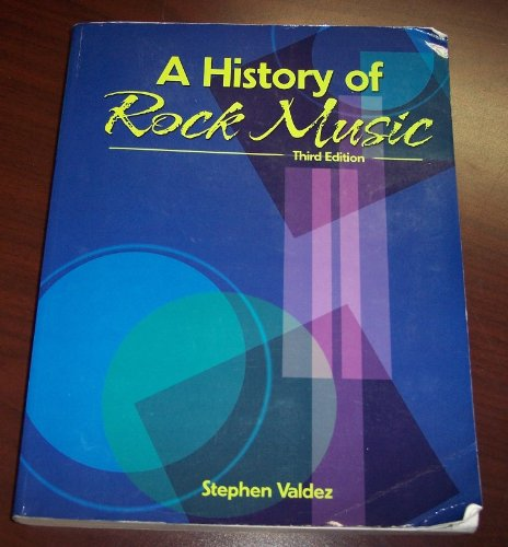 History of Rock Music  3rd 2004 (Revised) 9780757525155 Front Cover